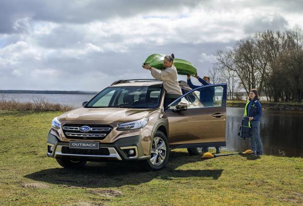 """""""Subaru Outback"""" – šeštoji klasės lyderio karta atkeliavo į Lietuvą"""