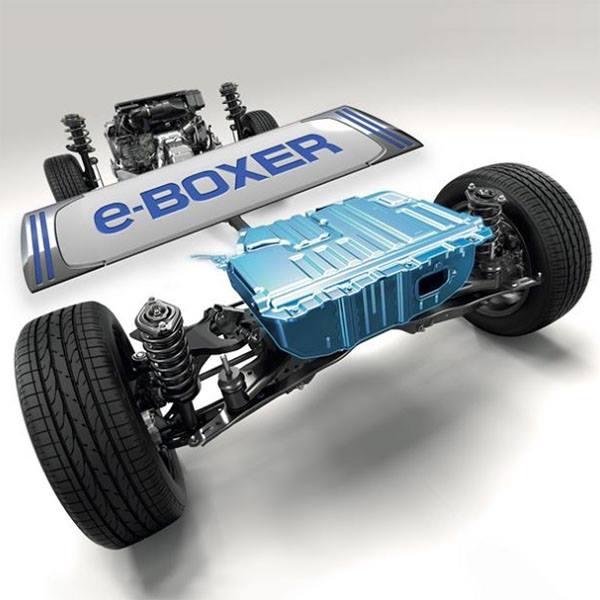 """Ženevos automobilių parodoje """"Subaru"""" pristatys """"e-BOXER"""""""