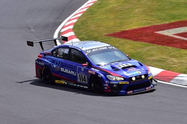 SUBARU WRX STI pergalė SP 3T klasėje 24 val. Niurburgringo lenktynėse