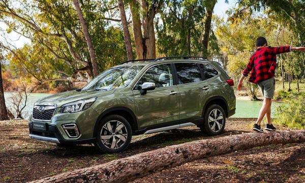 """Naujasis """"Subaru Forester"""" skina apdovanojimus"""