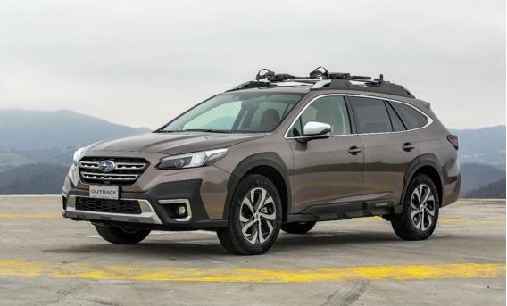 """Naujasis """"Subaru Outback"""" pademonstravo geriausius rezultatus atliekant 2021 m. """"EuroNCAP"""" saugumo bandymus"""