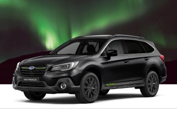 """Į Lietuvą grįžo """"Subaru Outback"""" serija """"Northern Lights"""""""