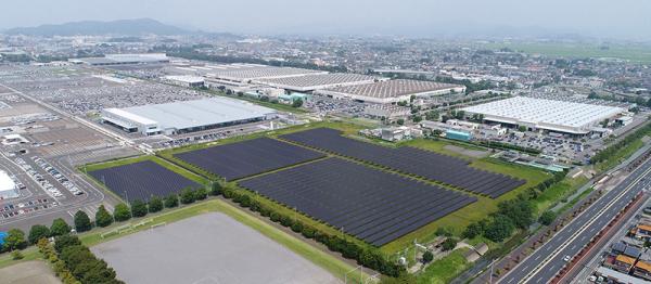 """""""Subaru"""" planuoja įrengti didžiausią Japonijoje saulės energijos sistemą"""