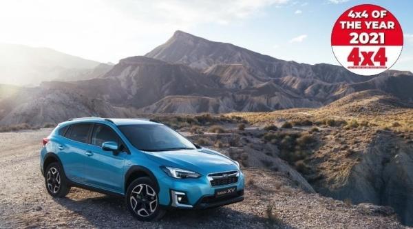 """""""Subaru XV"""" antrą kartą iš eilės pelnė Metų visureigio titulą"""